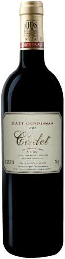 Château Haut Condissas - Le cadet-2002-0.75L