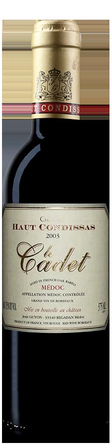 Château Haut Condissas - Le cadet-2003-0.375L-2