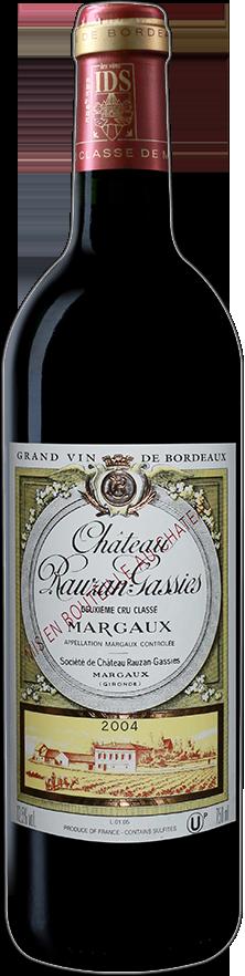 Château Rauzan-Gassies-2004-0.75L-2